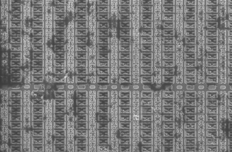SRAM cells on microcontroller